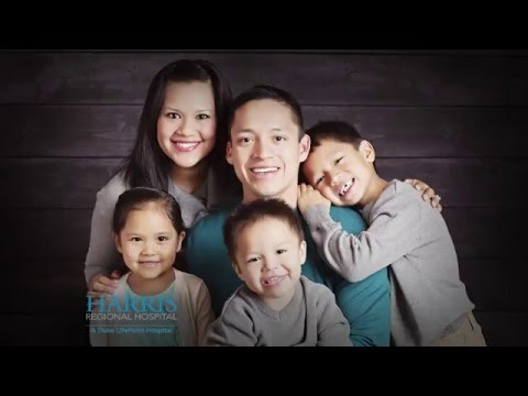 Harris Regional Hospital: Where your family is at the center of ours