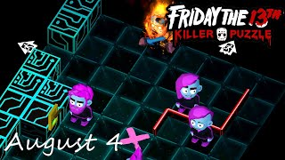 Friday the 13th Killer Puzzle Daily Death August 4 2020 Walkthrough