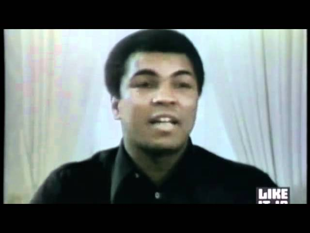 Anti-war Muhammad Ali puts Barack Obama the warmonger to shame