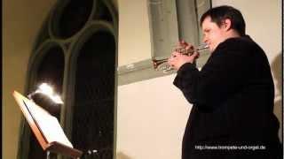 Trompete und Orgel: Jean-Baptiste Loeillet, Largo aus der Sonata in G-Dur