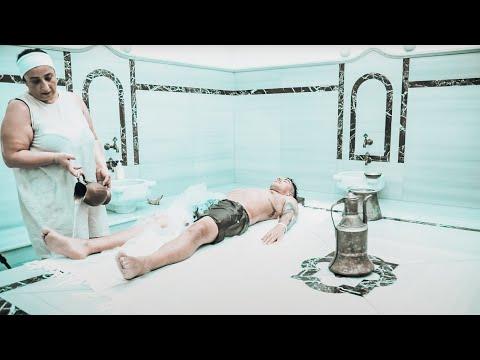 Amazing Turkish Hamam/Bath  - Bubble Massage - ASMR (Nomad Barber)