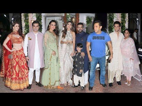 Shilpa Shetty's Big DIWALI Party 2018- Salman Khan,Arbaaz,Arpita,Ayyush,Preity,Jacquiline,Sushmita Mp3
