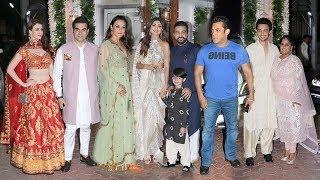 Shilpa Shetty's Big DIWALI Party 2018- Salman Khan,Arbaaz,Arpita,Ayyush,Preity,Jacquiline,Sushmita
