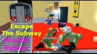 Побег из МЕТРО! - Зомби захватили Метро, СПАСАЙТЕСЬ! Игра как мультик, новая серия, let's play.