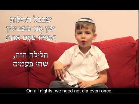 The Four Questions - In Israeli Sign Language
