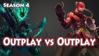 Thresh Outplay vs Lee Sin Outplay, NA LOL Highlight
