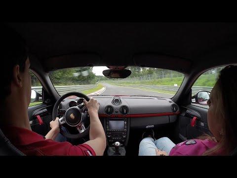 Porsche Cayman R Nurburgring Nordschleife with Girlfriend