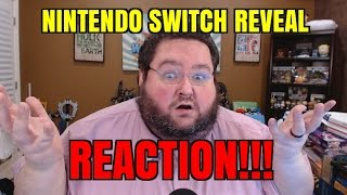 nintendo switch reveal reaction