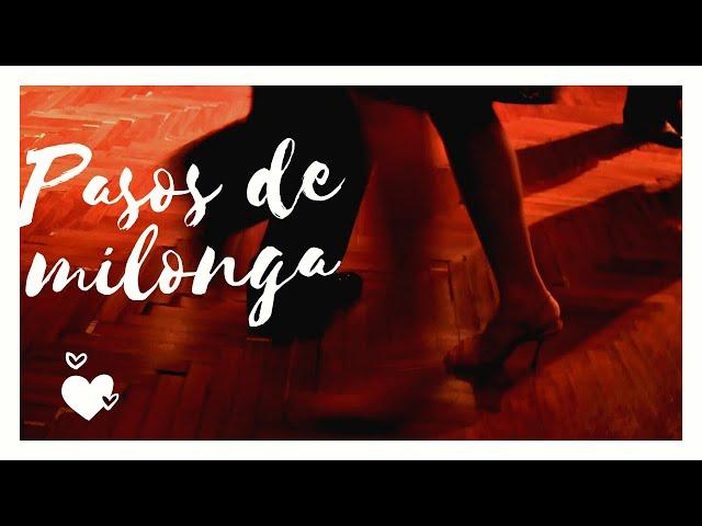 Pasos de milonga en Salón Canning, Canta Mariana Novoa  Tango en Buenos Aires