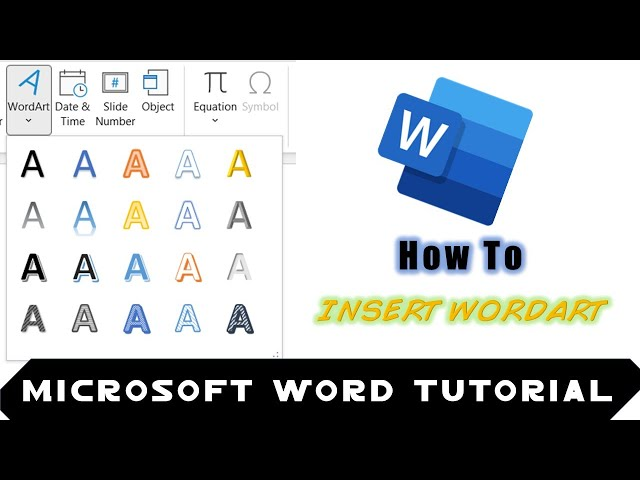 Microsoft Word Drawing Tools Tutorial