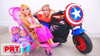 Vlad e Nikita gostam de super heróis