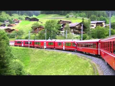 Rhatische Bahn Arosabahn Von Arosa Nach Chur Juni 2011 Youtube
