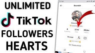 Free tik tok followers hack