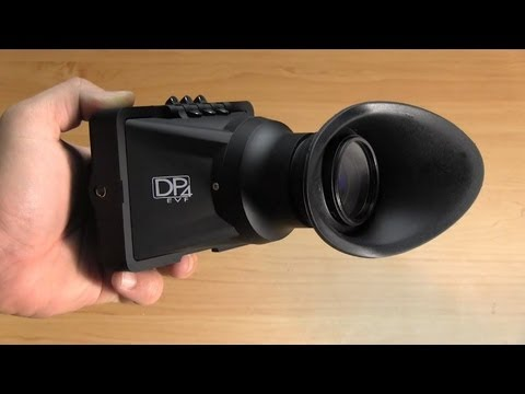 DVTV - SmallHD DP4 EVF Review, How to Light Outdoors