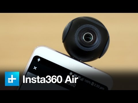 Insta360 Air 360 Degree Smartphone Camera - Hands On Review