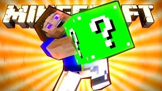 ЗЕЛЁНЫЙ ЛАКИ БЛОК! - Обзор Мода (Minecraft)