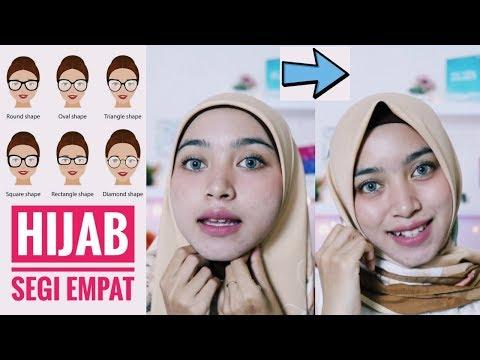 Tips Memakai Hijab Segiempat (Anti Lepek!).