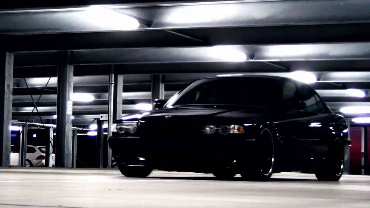 Slammed E38 740 V8 Black Beauty Youtube