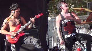 Repeat youtube video Escape the Fate - This War is Ours - Aftershock 2012