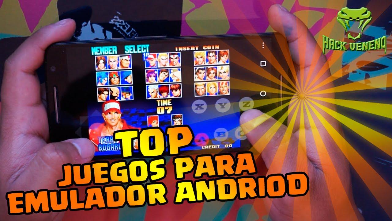 Download Los Mejores Juegos Para Emuladores ANDROID # 1 | Sin conexion a internet | Hack Veneno