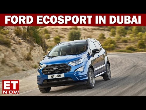 First Drive Of Ford EcoSport & Dune Bashing In Dubai