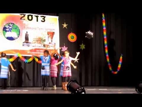 RTS Diwali Program - Amma Wake Me Up Song - Akshaya with Friends