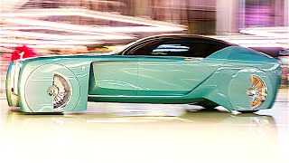 Rolls-Royce Vision REVIEW IN DETAIL Walkaround Rolls-Royce Concept Car Driverless CARJAM