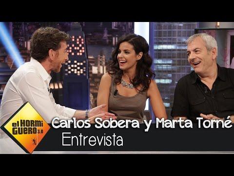 """Carlos Sobera en El Hormiguero 3.0: """"Tengo que tocarle el culo a Marta Torné todos los días"""" thumbnail"""