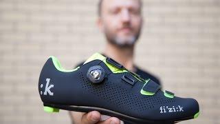 Fi'zi:k Fizik R4 cycling road shoe unboxing video. Spinshoeguru.com