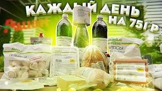 Обзор дешевых продуктов: Каждый день.
