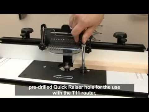 Table De Fraisage Trend Craftpro Mk3 Hmdiffusion Youtube
