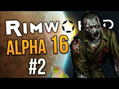 ALLOW ALL THE CORPSES! ★ Rimworld Alpha 16 (Crashlanded) - #2