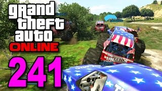 Grand Theft Auto 5 Multiplayer - Part 241 - Monster Truck Races (GTA Online Let's Play)