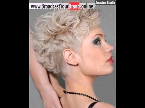Sehr Kurze Frisuren Für Feines Haar Mit Lockiges Haar YouTube