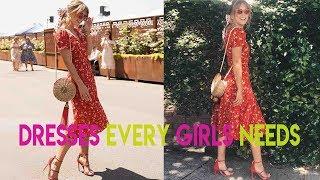 Summer dresses for women 2019 Review | Sexy v neck wrap chiffon beach dress