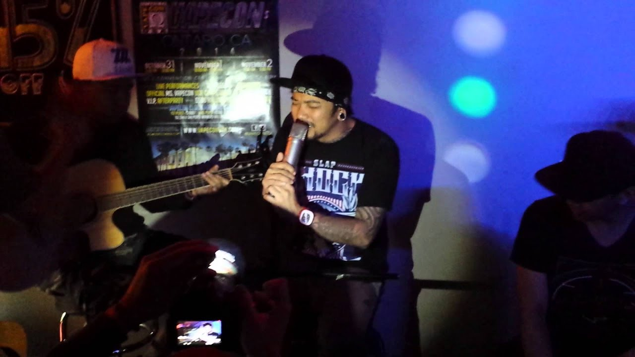 Agent Orange of Slapshock Acoustic Night