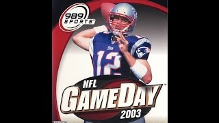 NFL GameDay 2003 - PS2 2002 (Opening)