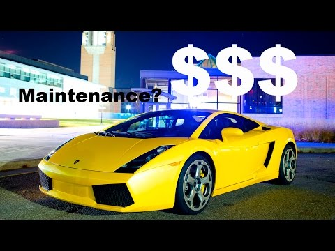 Lamborghini Gallardo Maintenance Cost? 5000 mile ownership review!