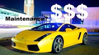 Lamborghini Gallardo Maintenance Cost? 5000 mile ownership review! thumbnail