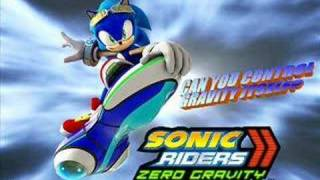 Sonic Riders Zero Gravity - Un-Gravitify ORIGINAL LYRICS