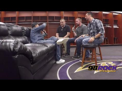 Metallica Drummer Lars Ulrich Talks About the WorldWired Stadium Tour with Justin, Scott and Spiegel