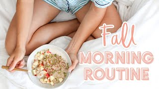 Fall Morning Routine 2019 + Cozy Oatmeal Recipe