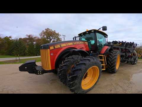 A look at a new Versatile 335 MFWD Tractor at Schmidt Machine Company