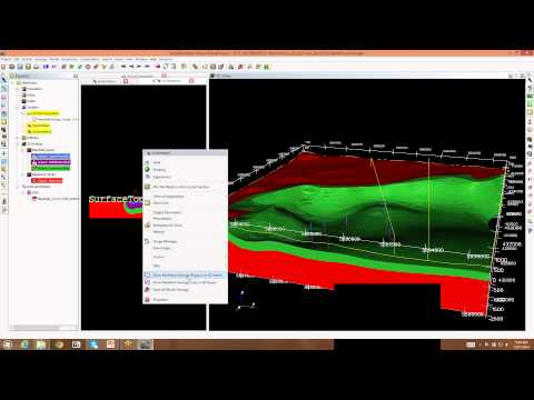 Webinar 1/2014: Introduction to rapid building of a 3D model from drill holes and surface data