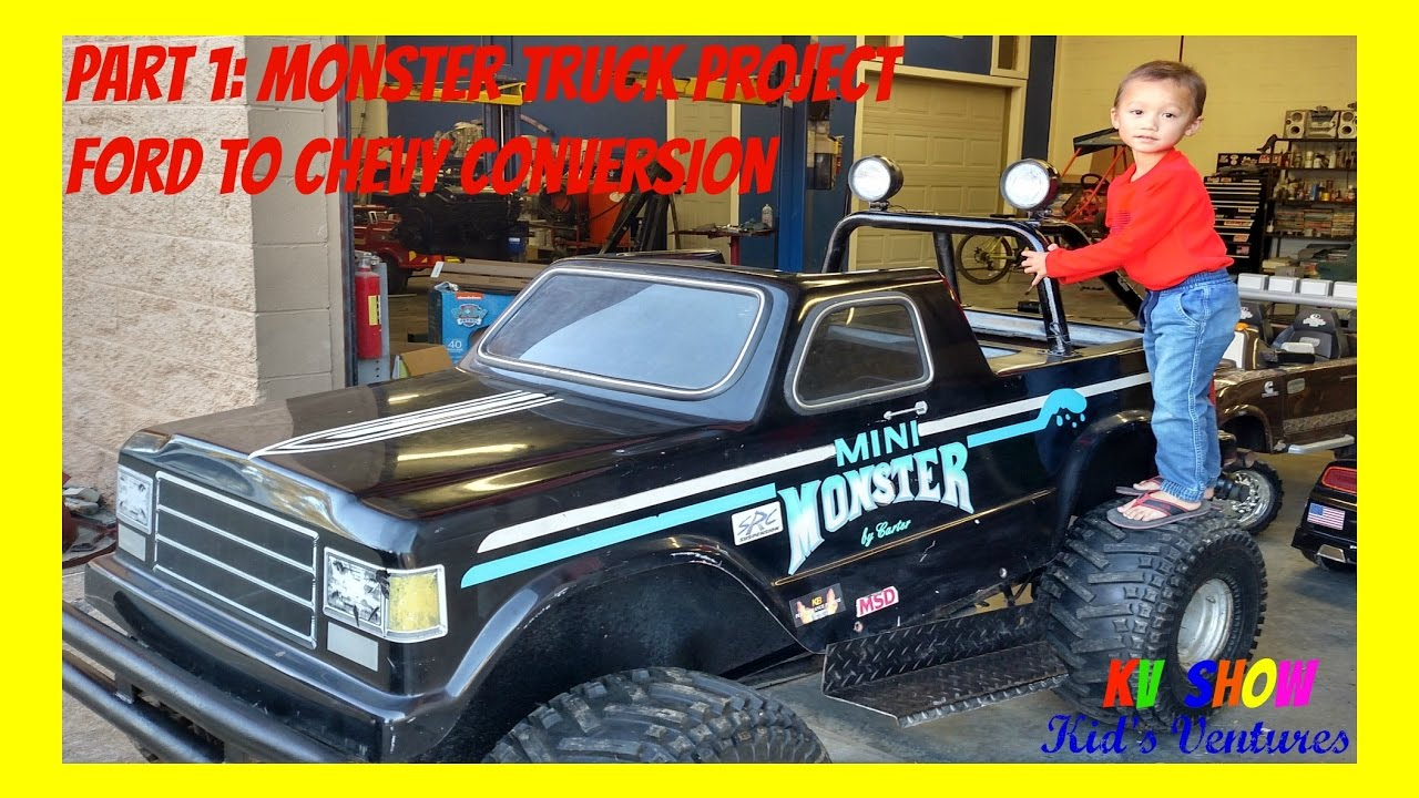 Part 1: Mini Monster Truck Project! Ford To Chevy