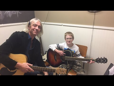 LIVE from Lessons with Kolton on Guitar