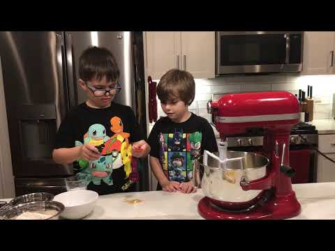 COOKIE BITES with BOBBY Episode 2 Chocolate Chip Cookies with Jack