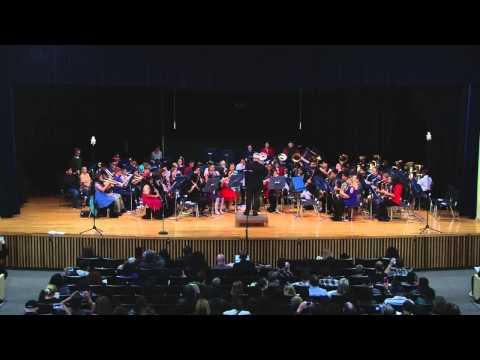 Pine Tree Middle School Blue Band - Jolly Ol' St Nicholas