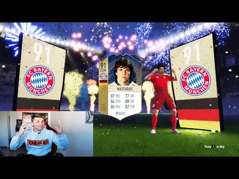 91 ICON MATTHÄUS Fc Bayern Buy First Guy Discard CHALLENGE! 🔥🔥 Fifa 18 Ultimate Team Deutsch