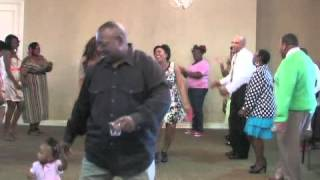 SOUL TRAIN LINE @! MARCUS & ALISHAKA WEDDIN RECEPTION